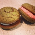 Match Whoopie Pies with Raspberry Cream Cheese Filling or Vanilla Mascarpone Cream Cheese Filling